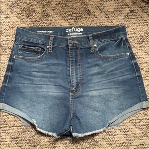 Charlotte Russe shorts.